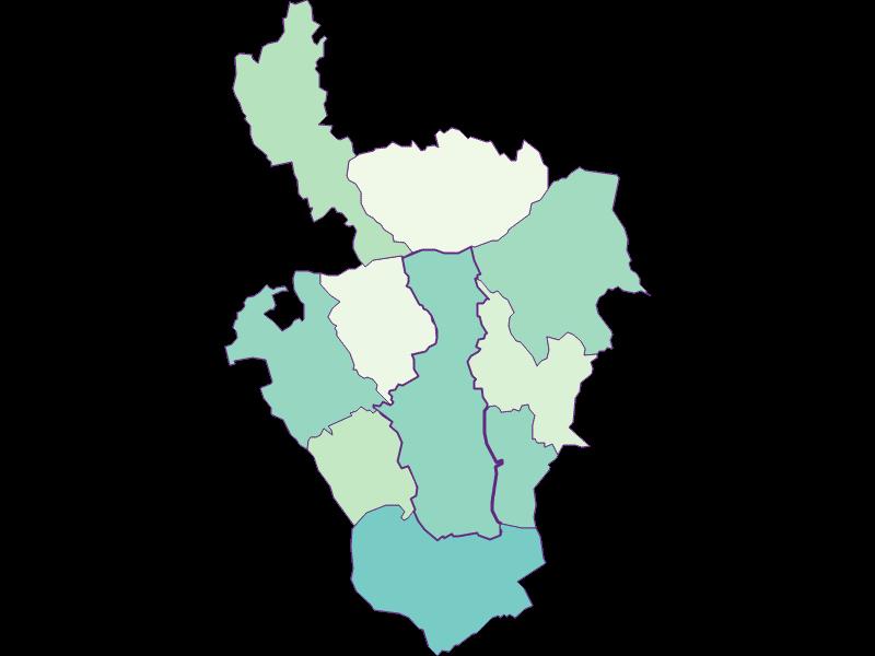 Share of foreigners in Oberschützen