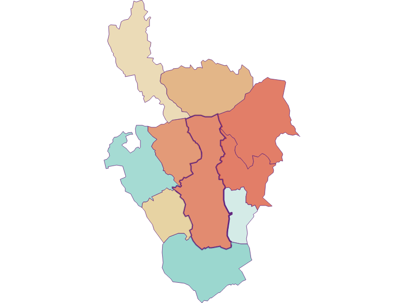 Population development since 1869 in Oberschützen