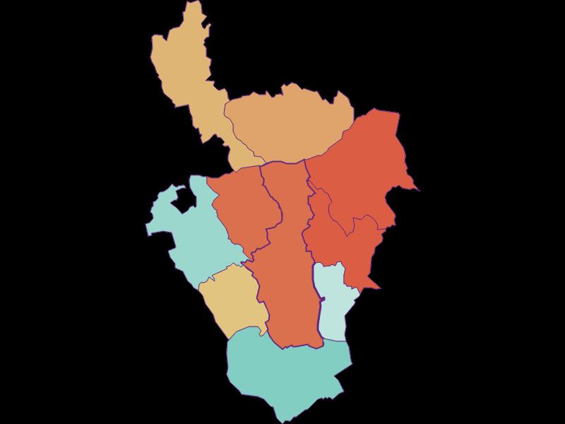 Population development since 1900 in Oberschützen