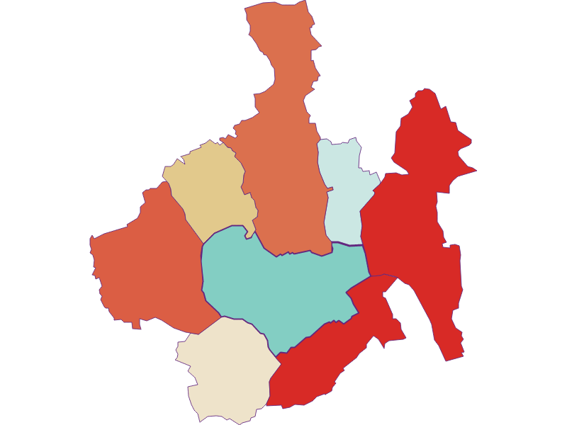 Демография с 1869 года в Oberwart