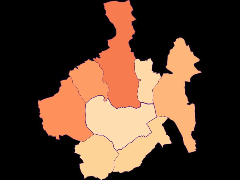 Размер домохозяйства в Oberwart