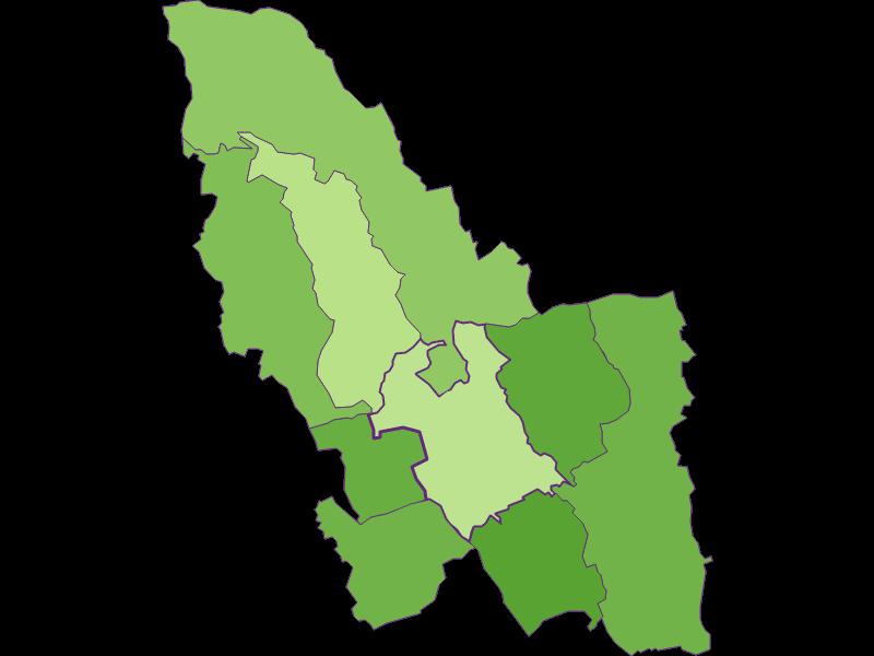 Заселенность в Pinkafeld