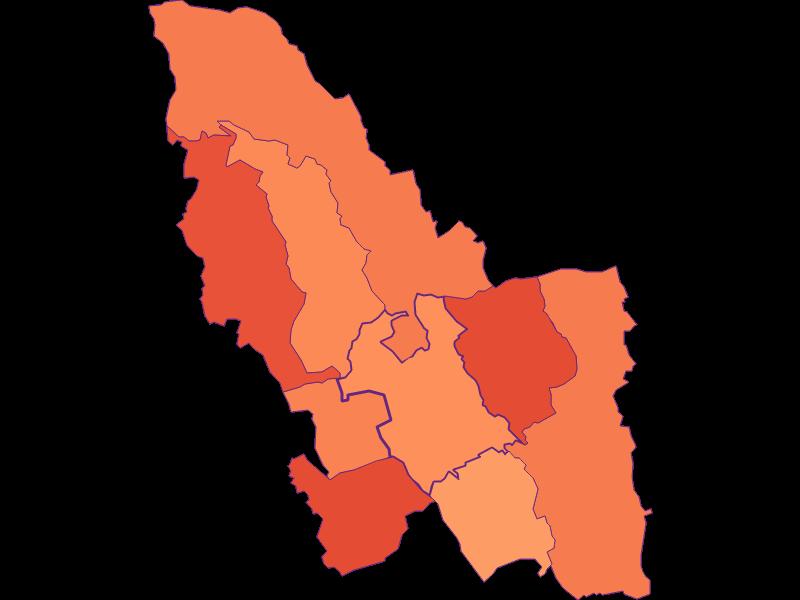 Размер домохозяйства в Pinkafeld