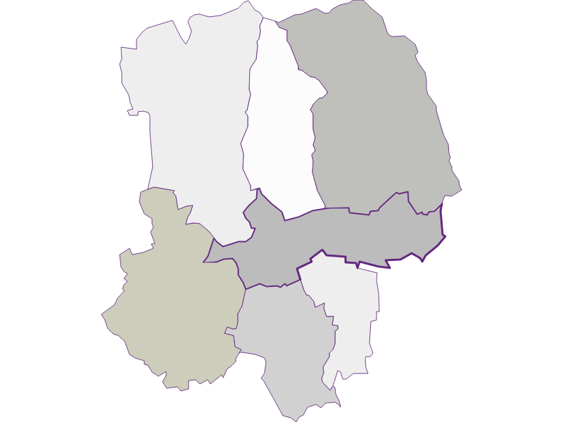 Farmers (comparison to federal state) in Schachendorf