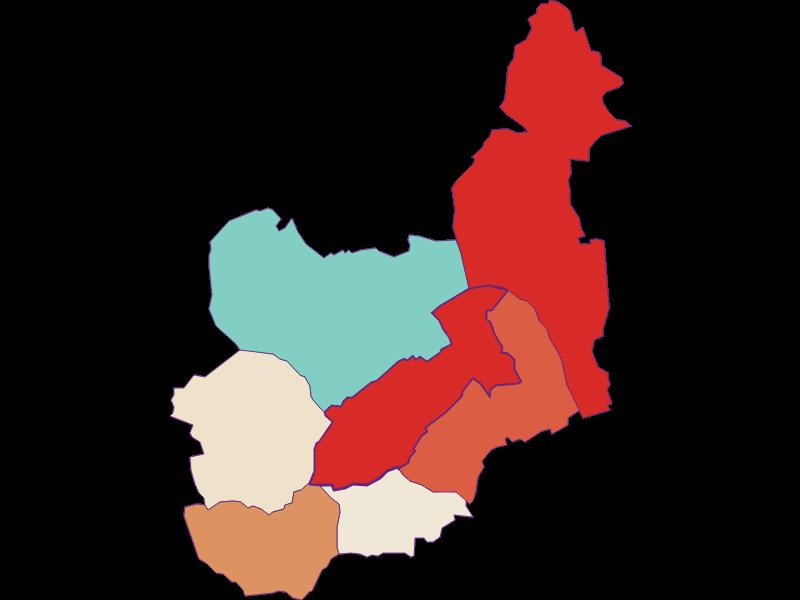 Population development since 1869 in Unterwart
