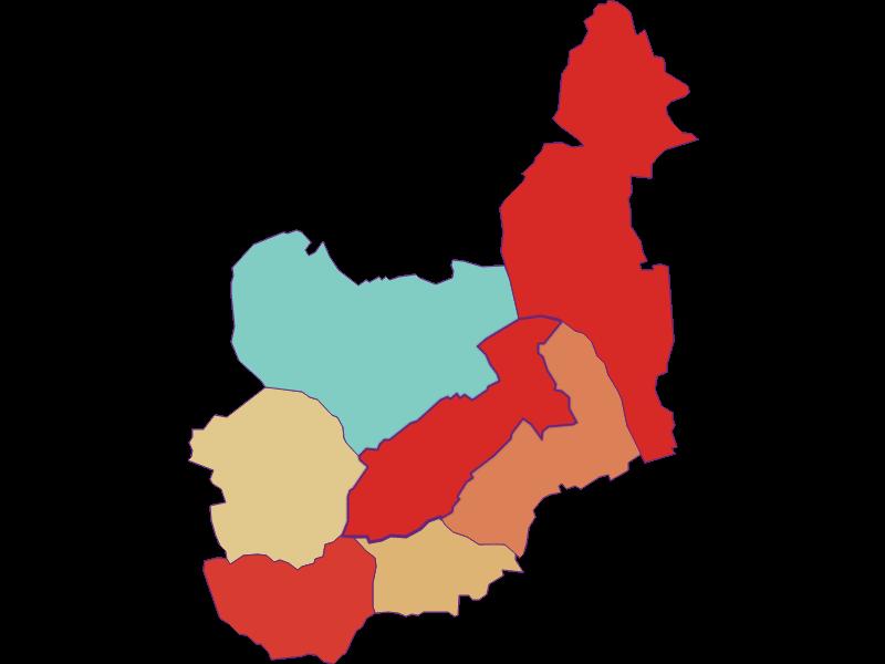 Population development since 1900 in Unterwart