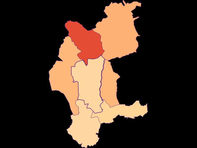 Размер домохозяйства в Weiden bei Rechnitz