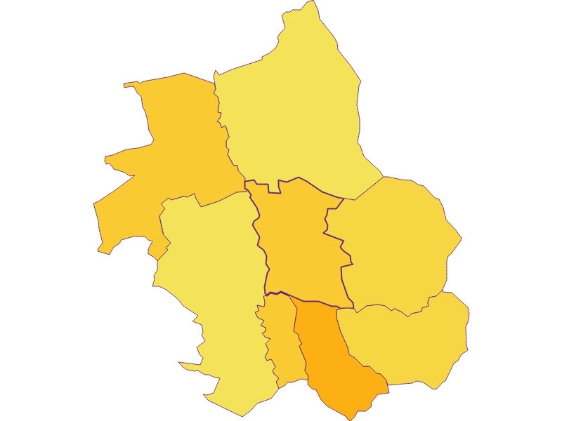 Population density in Wolfau