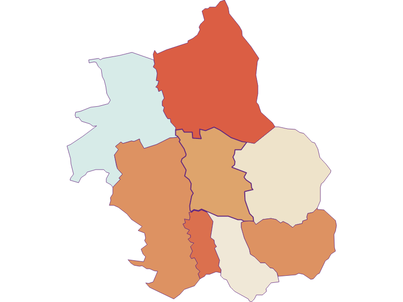 Population development since 1869 in Wolfau