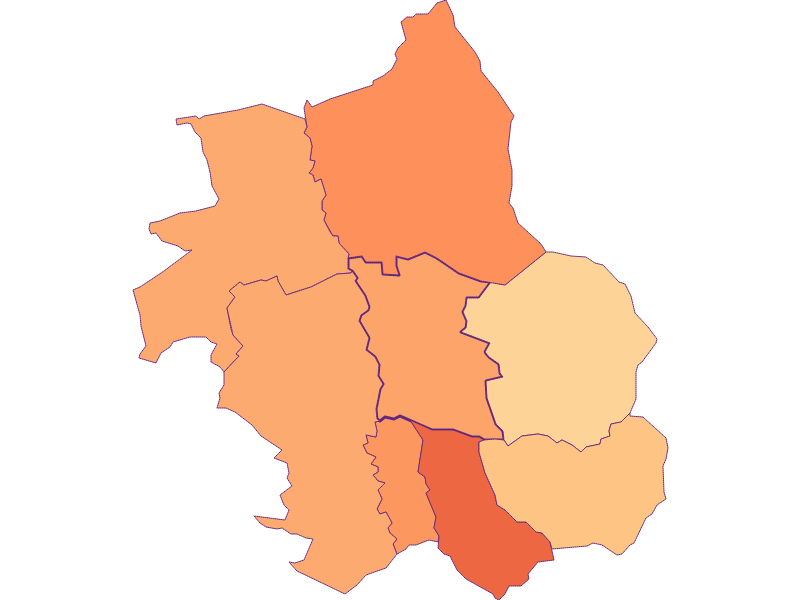 Household size in Wolfau