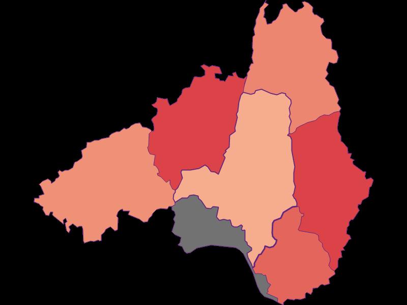 Activity rate in Waldhausen im Strudengau