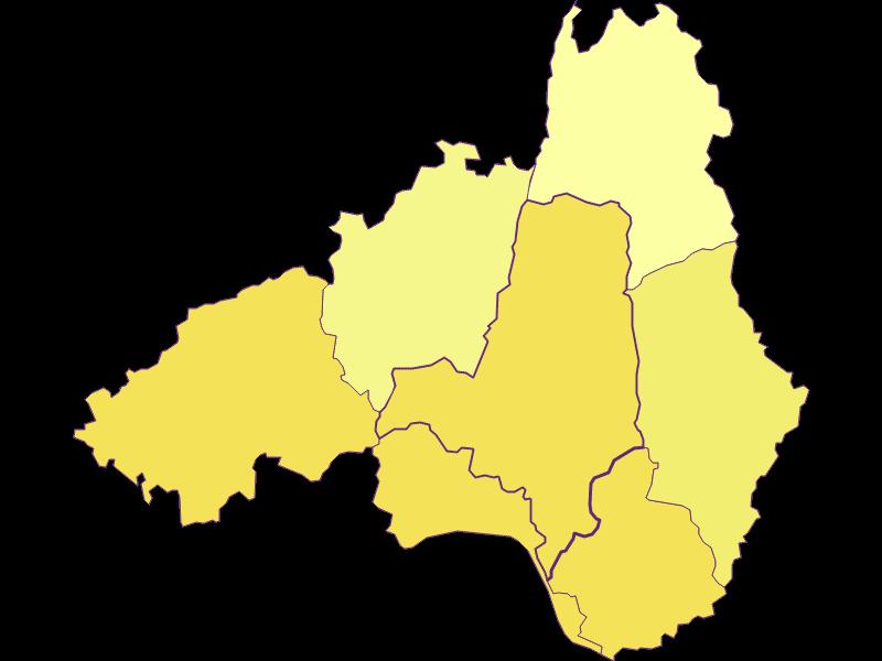 Population density in Waldhausen im Strudengau