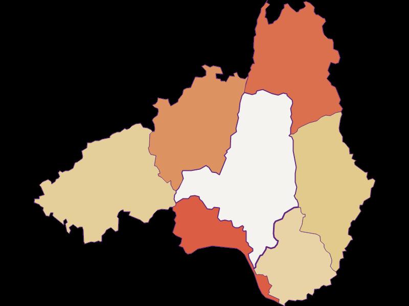 Population development since 1900 in Waldhausen im Strudengau