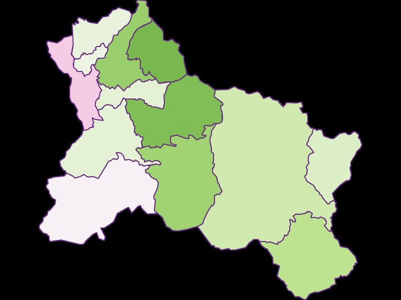 Заселенность в Hallein