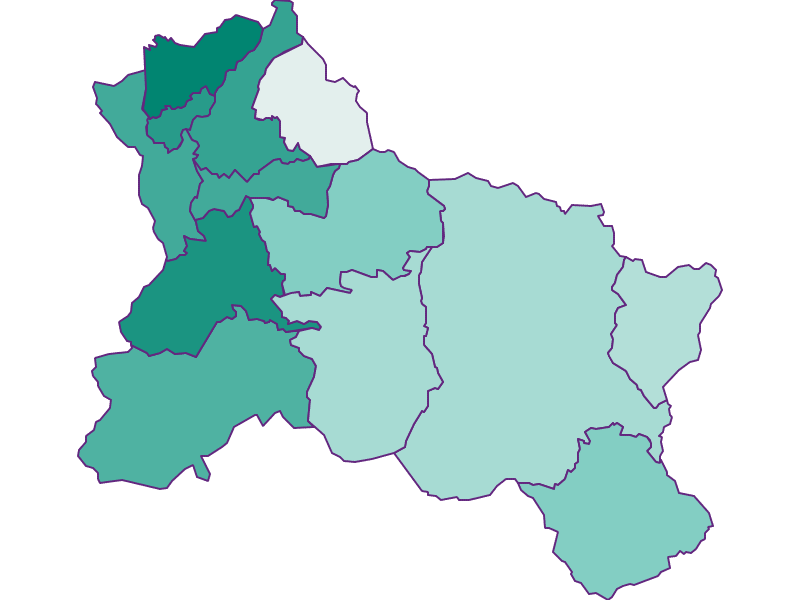 Демография с 1900 года в Hallein