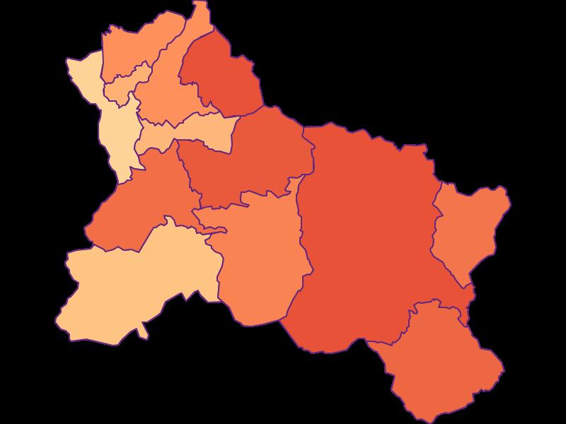 Размер домохозяйства в Hallein