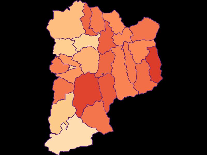 Размер домохозяйства в Sankt Johann im Pongau