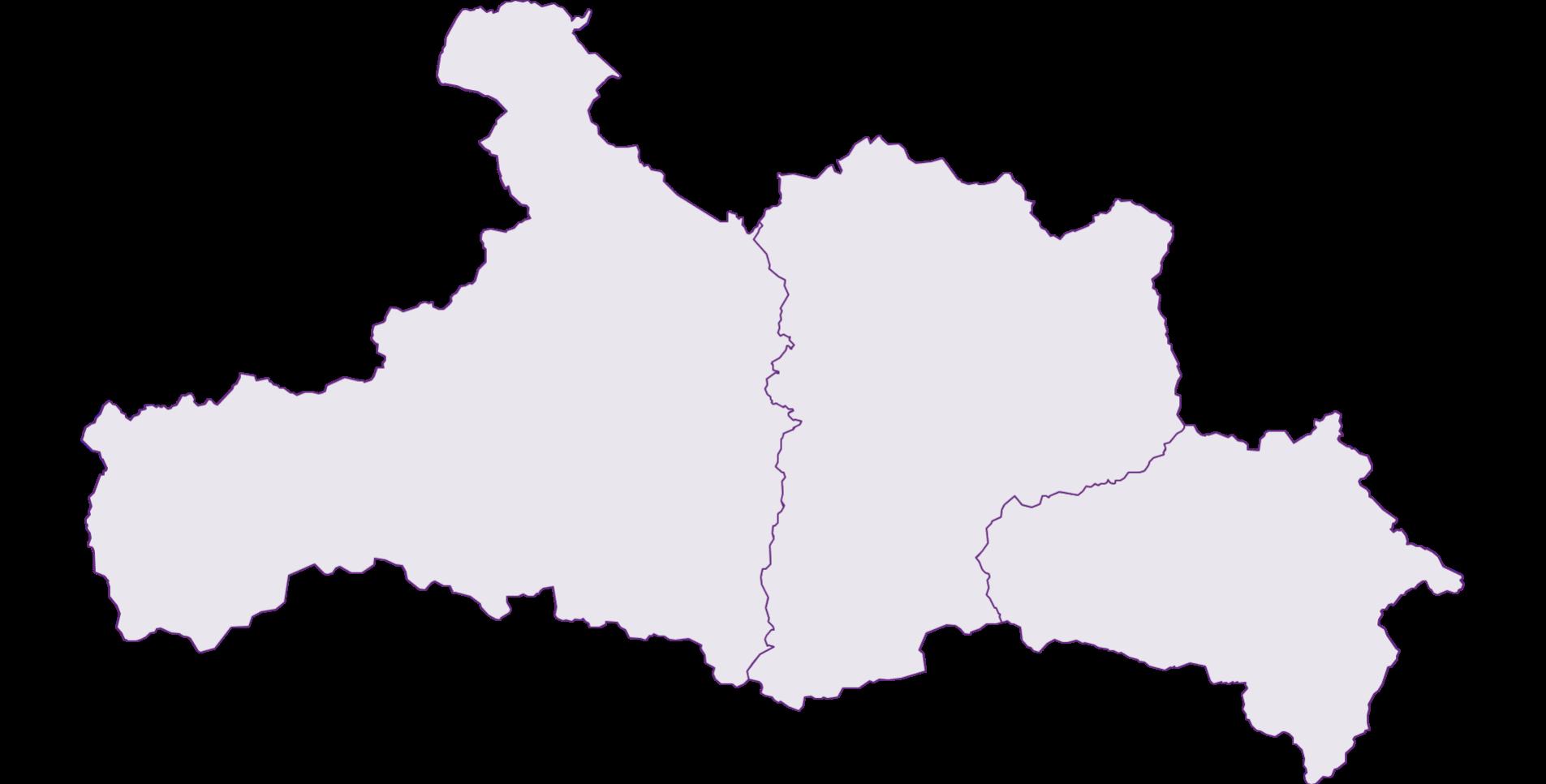 Lungau/Pinzgau/Pongau - Region - Austria - Geography, business and economics, statistics | Similio