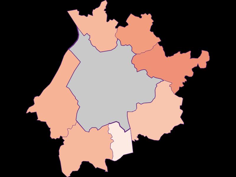 Activity rate in Salzburg