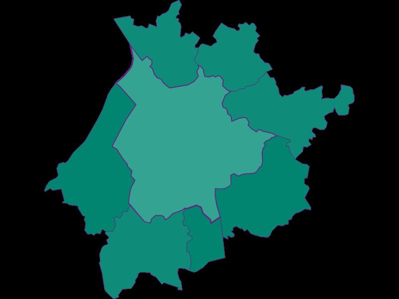 Population development since 1900 in Salzburg