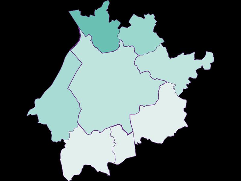 Population development since 2011 in Salzburg