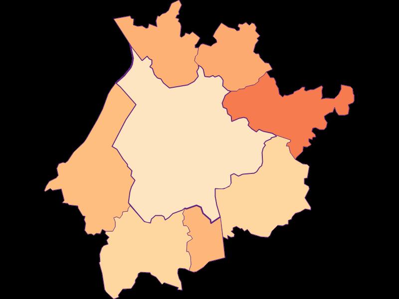 Household size in Salzburg