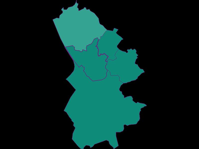 Демография с 1869 года в Bergheim