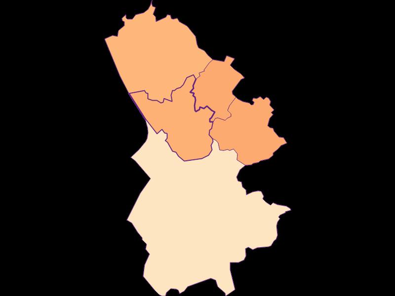 Размер домохозяйства в Bergheim