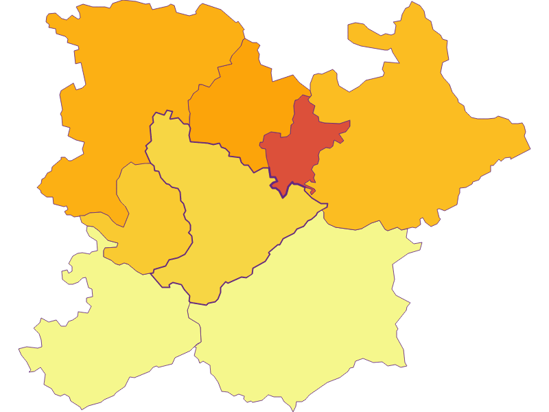 Population density in Altlengbach