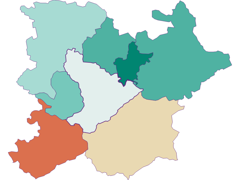 Population development since 1900 in Altlengbach
