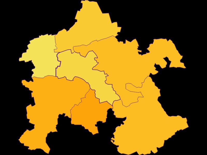 Population density in Asperhofen