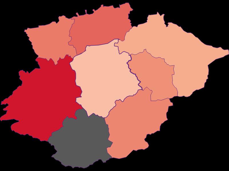 Activity rate in Frankenfels
