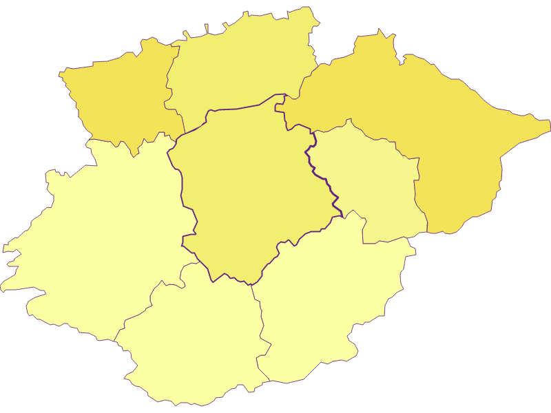 Population density in Frankenfels