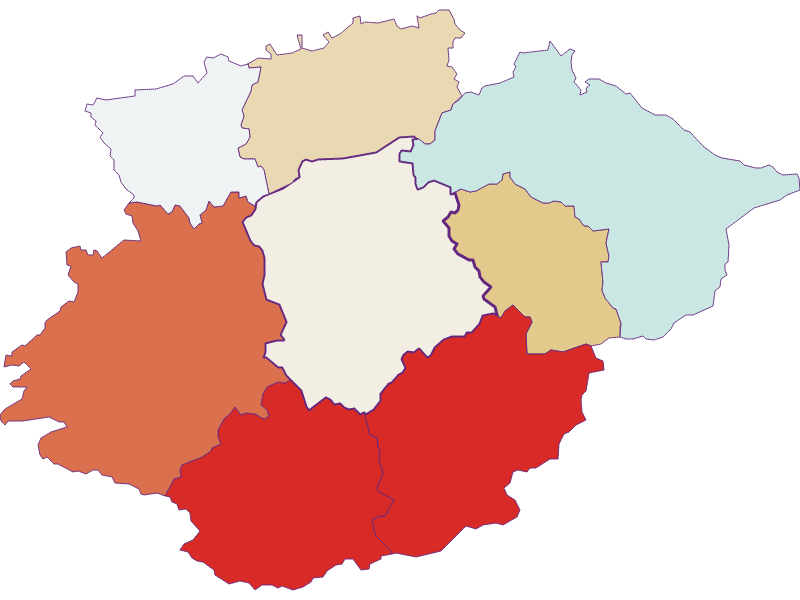 Population development since 1869 in Frankenfels
