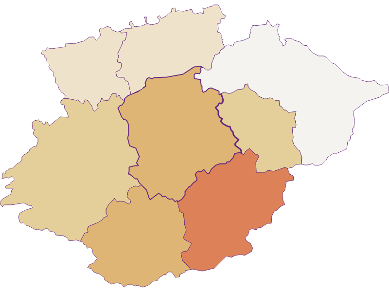 Population development since 2011 in Frankenfels