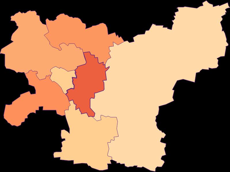 Размер домохозяйства в Gerersdorf