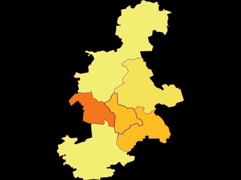 Плотность населения в Haunoldstein