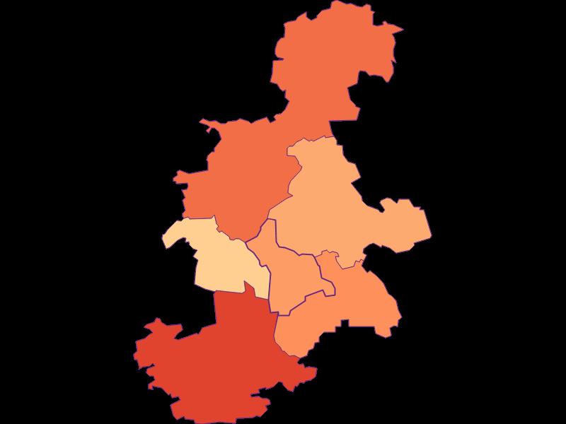 Размер домохозяйства в Haunoldstein