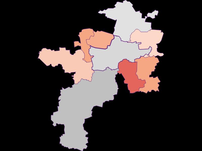 Activity rate in Herzogenburg