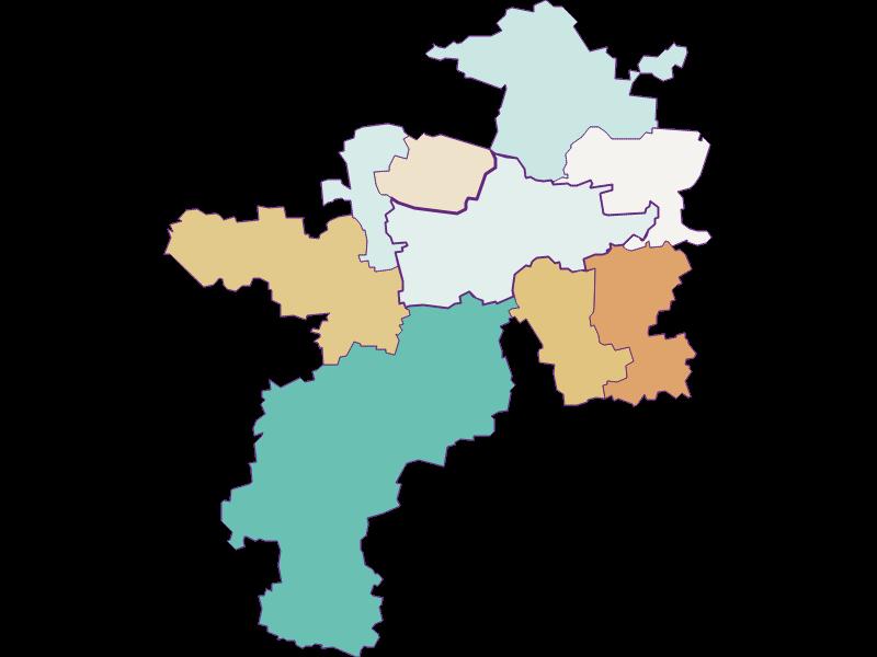 Population development since 1900 in Herzogenburg