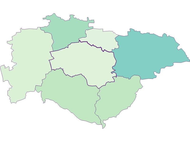 Доля иностранцев в Hofstetten-Grünau
