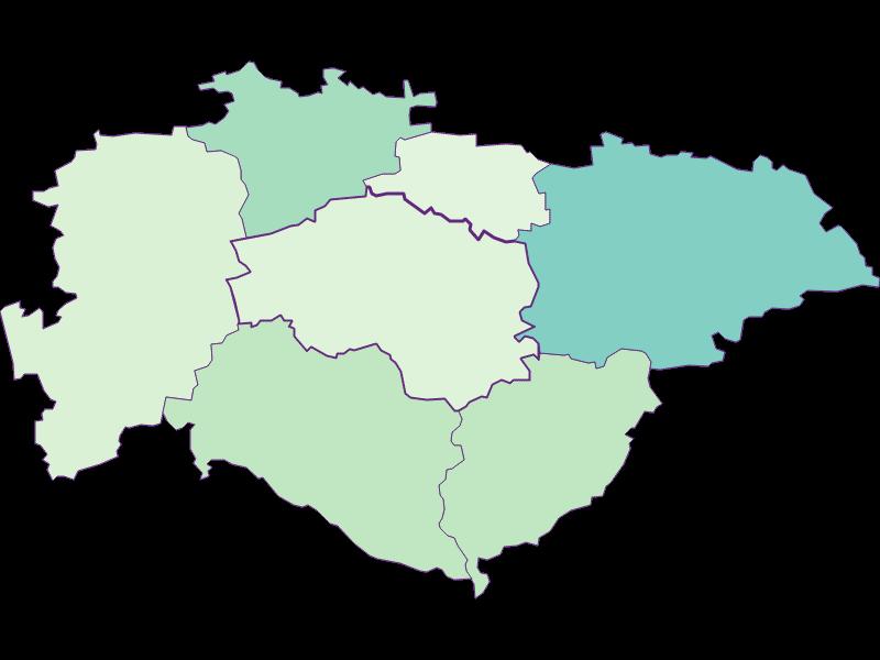 Share of foreigners in Hofstetten-Grünau
