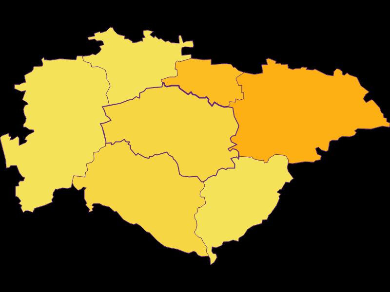 Плотность населения в Hofstetten-Grünau