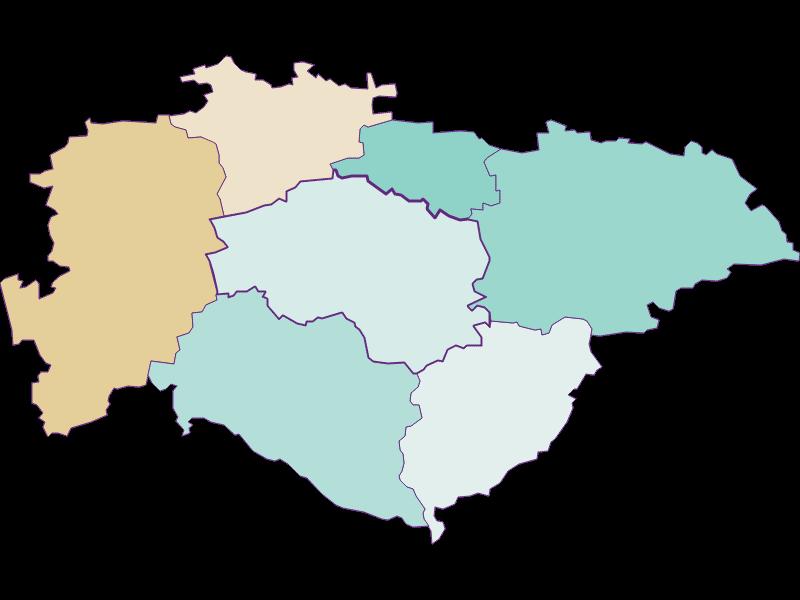 Population development since 1869 in Hofstetten-Grünau