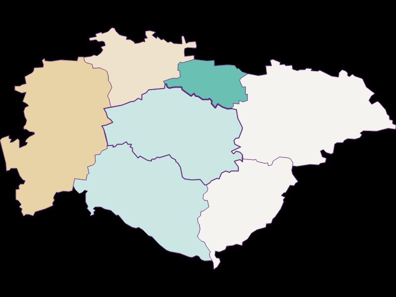 Population development since 1900 in Hofstetten-Grünau