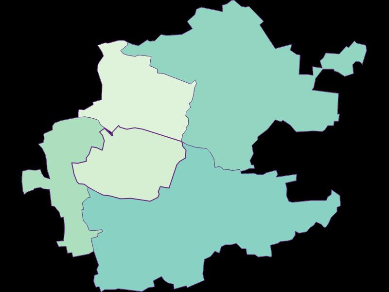 Share of foreigners in Inzersdorf-Getzersdorf