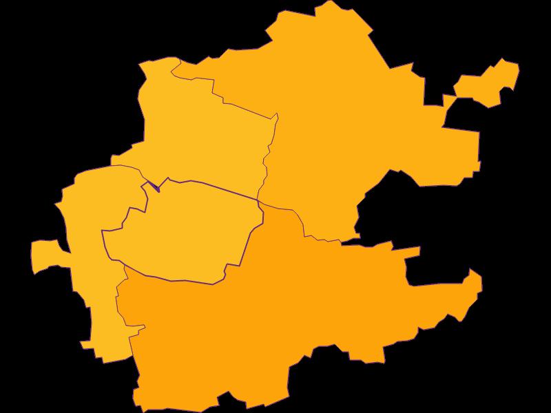 Population density in Inzersdorf-Getzersdorf