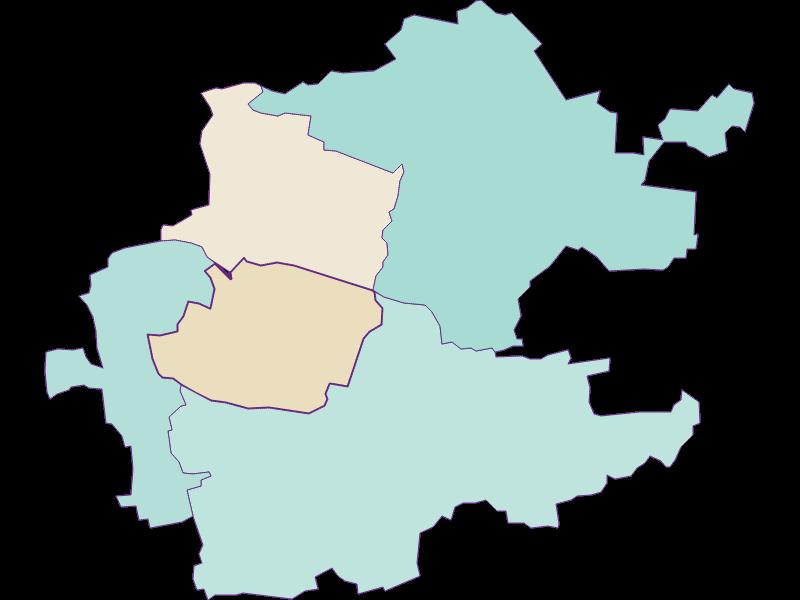 Population development since 1869 in Inzersdorf-Getzersdorf