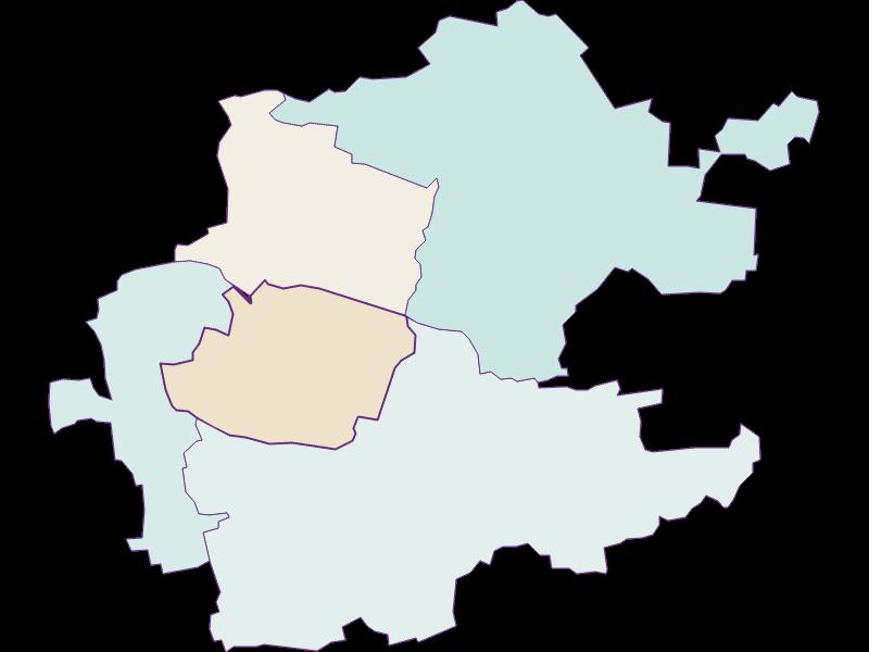 Population development since 1900 in Inzersdorf-Getzersdorf