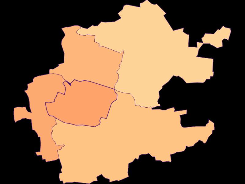 Размер домохозяйства в Inzersdorf-Getzersdorf